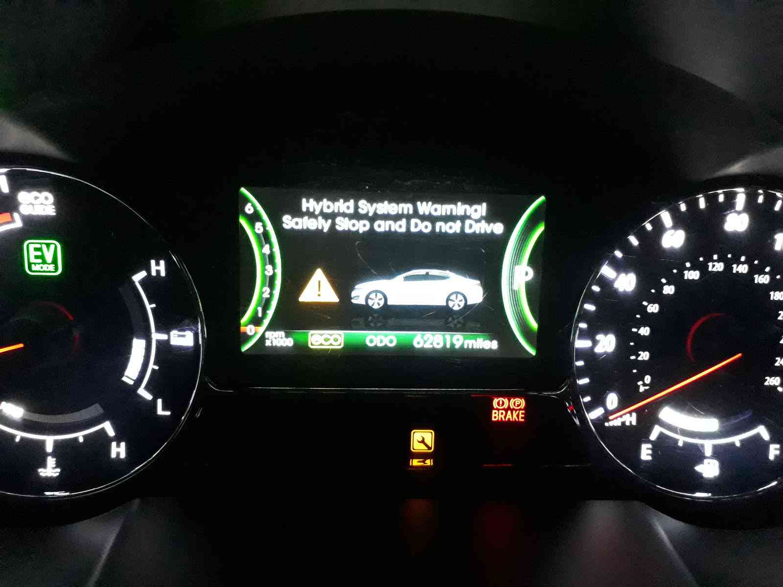 What Does The Hybrid System Warning Light Mean