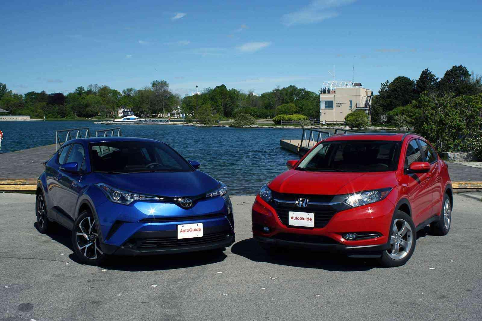 Toyota CH-R vs. Honda HR-V