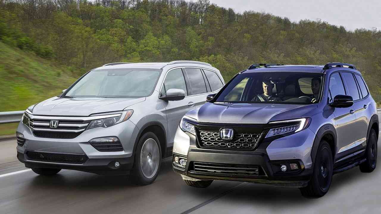 Honda Passport vs. Pilot- actual differences to count on