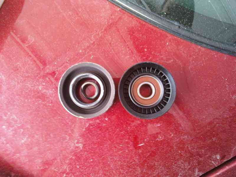drive with a bad idler pulley
