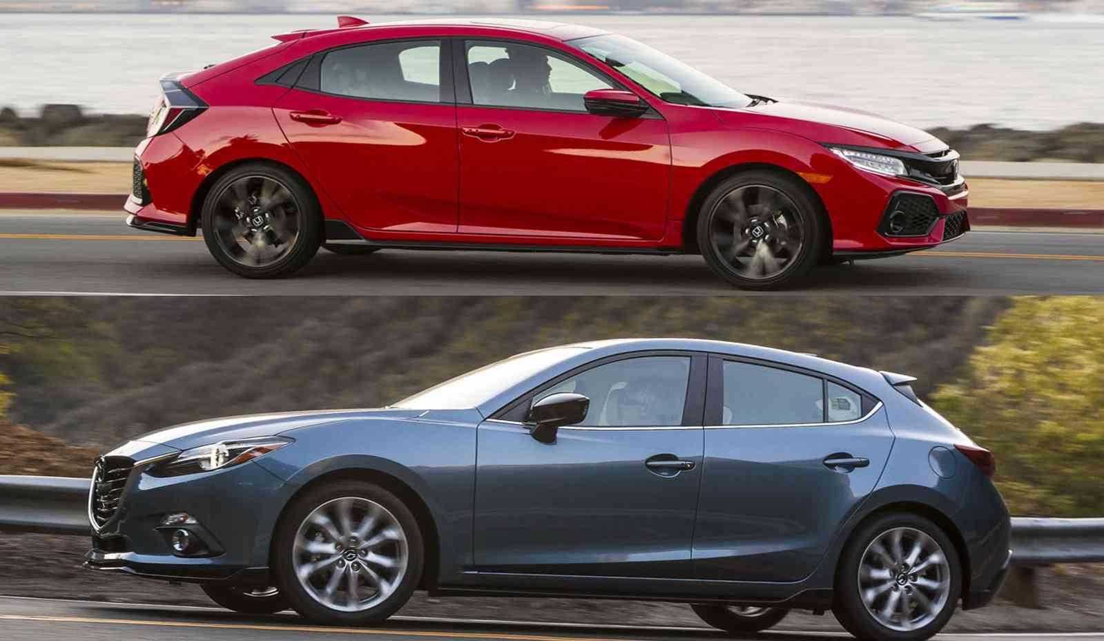 Mazda 3 Sport Vs Touring >> Mazda 3 Vs Honda Civic The Battle Of The Compact Favorites