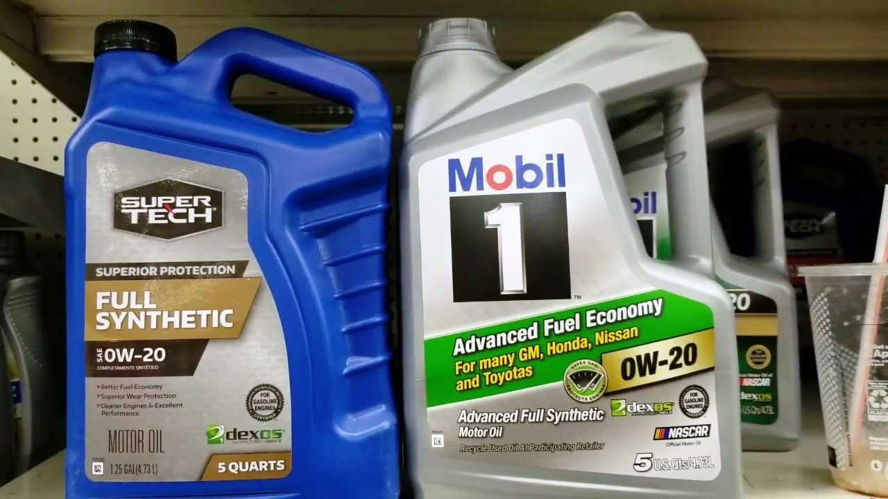 Read this actual comparison of Supertech Oil and Mobil 1