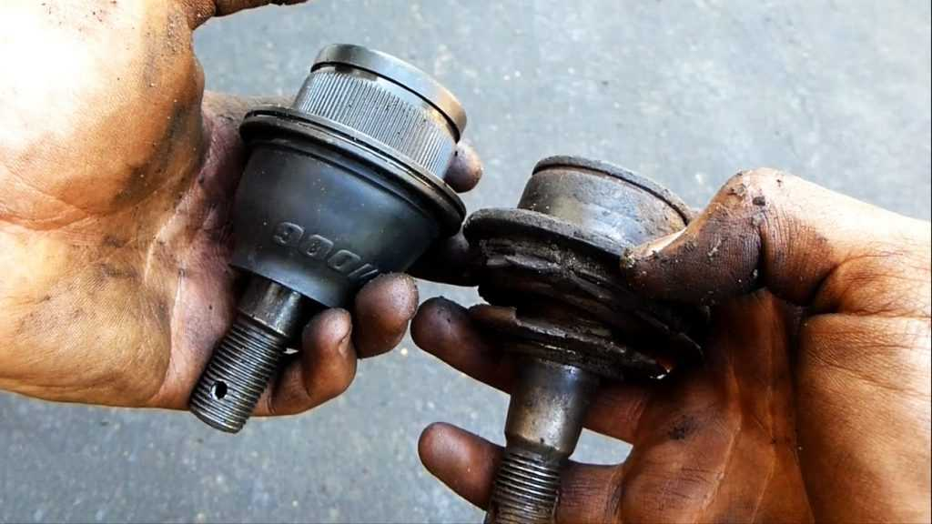 Good ball joint vs bad ball joint