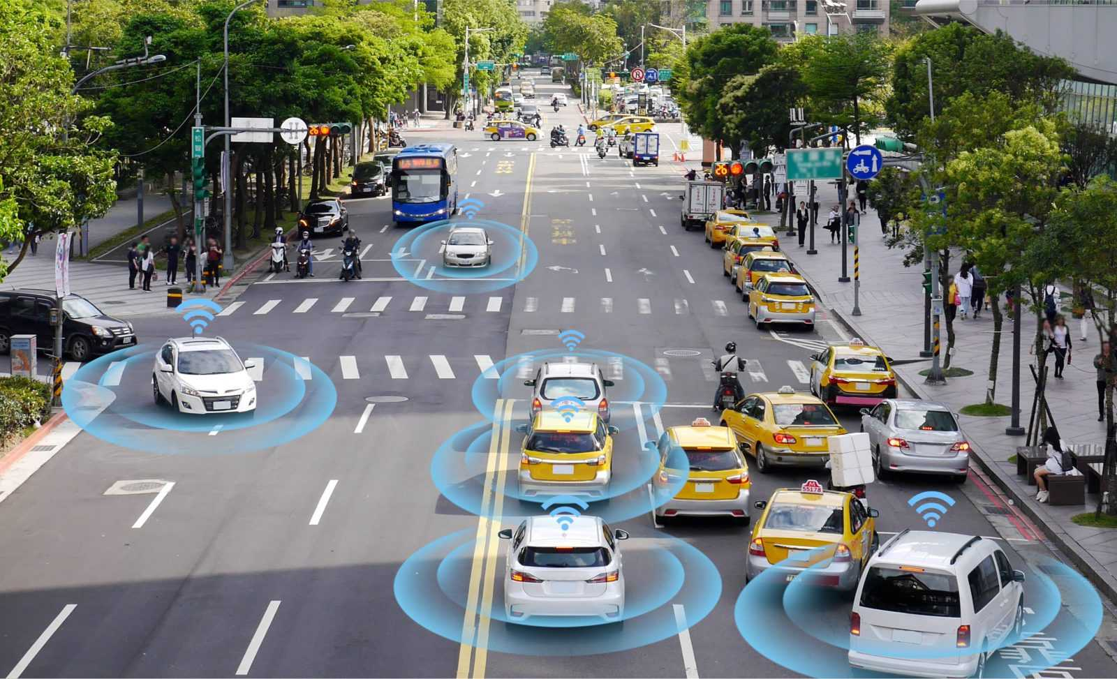 The vehicle first brings the mapping technology in use in these cars