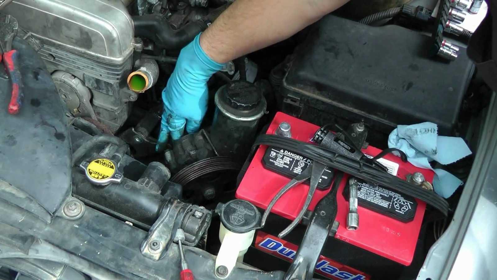How to replace AC compressor