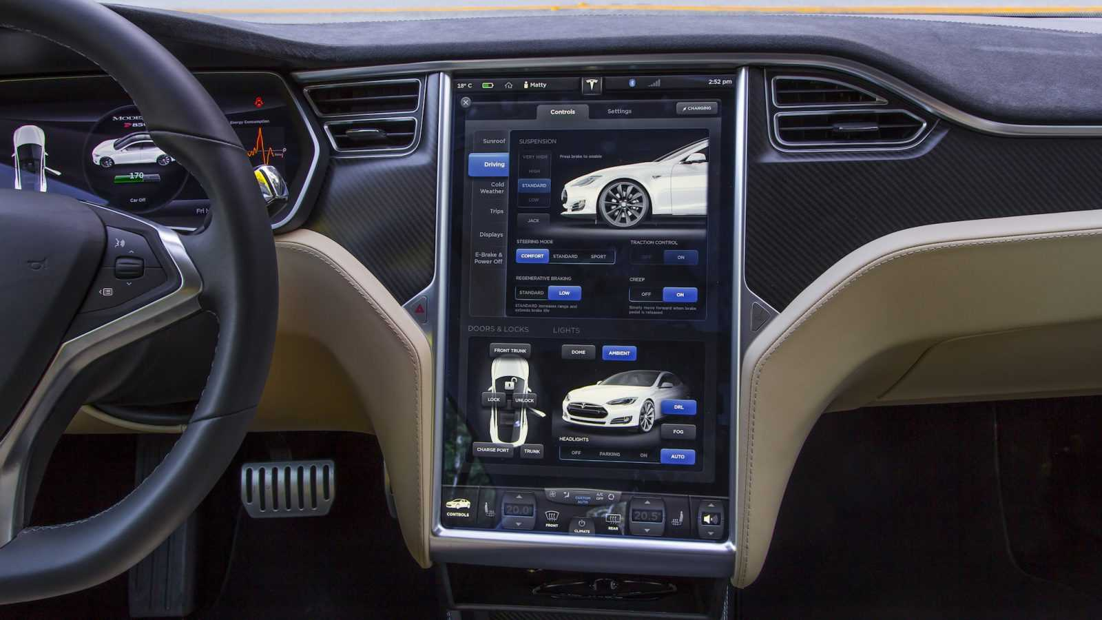 Did you know that Model S received the award of Motor Trend Car of the Year for being an electric car