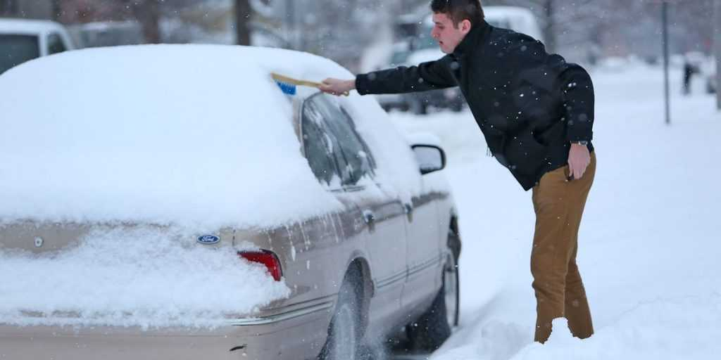 Ice Can Interfere With the Normal Functioning of the Car Door