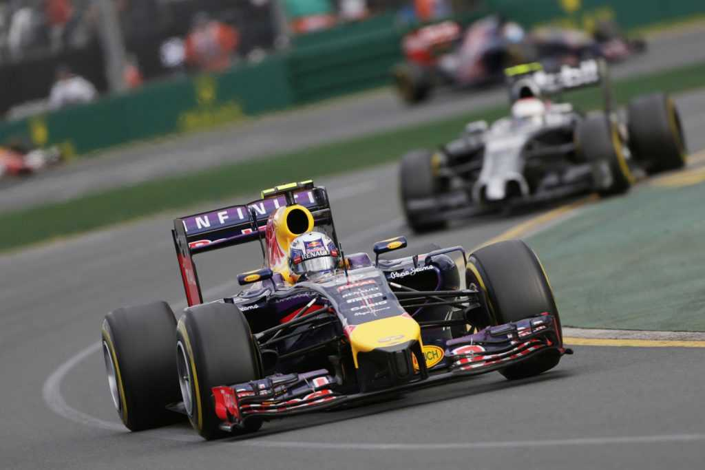 Brake Lights in F1 Cars