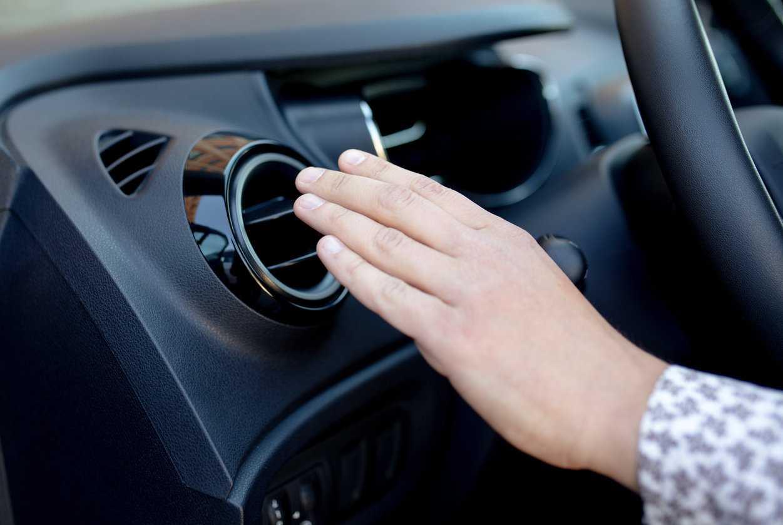 car heater not blowing hot air