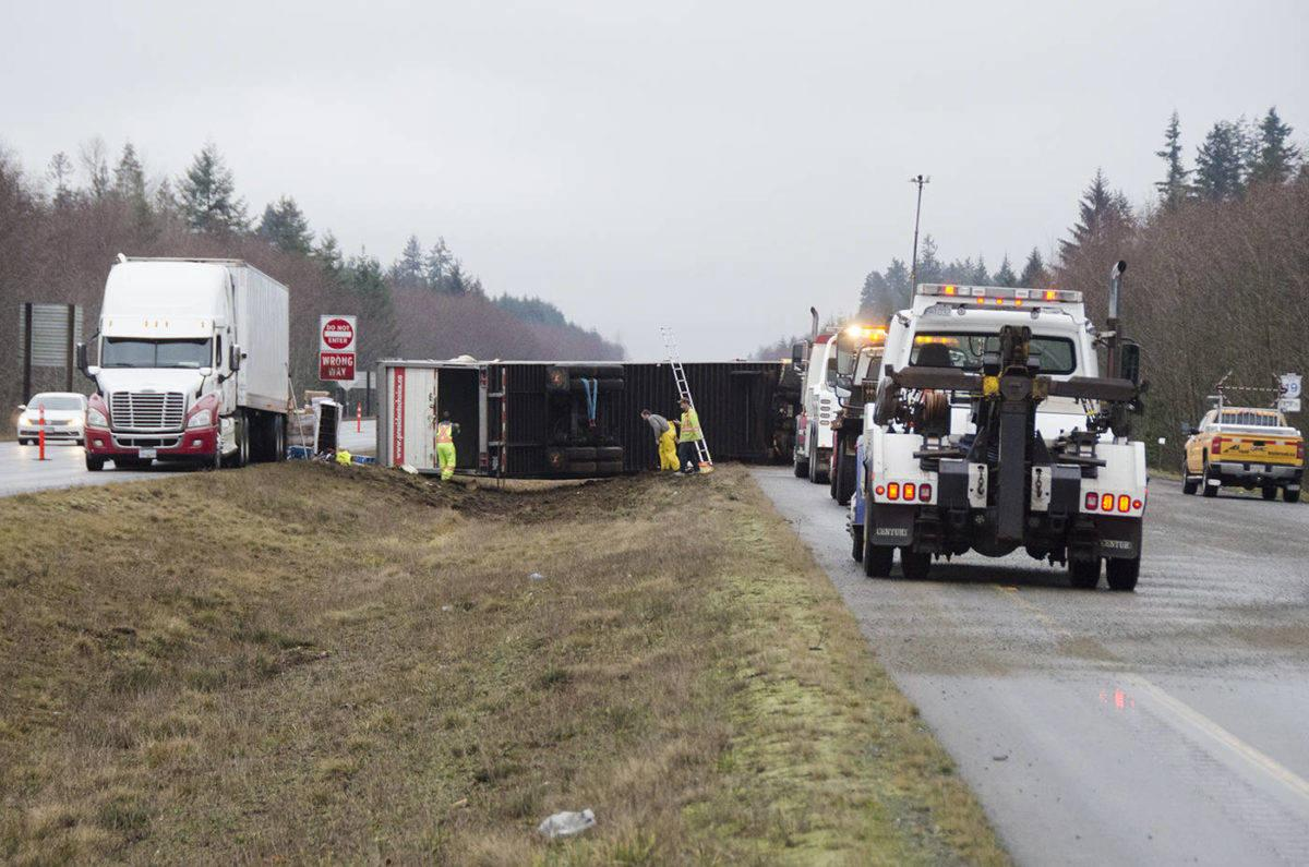 truck driving tips avoid a skid