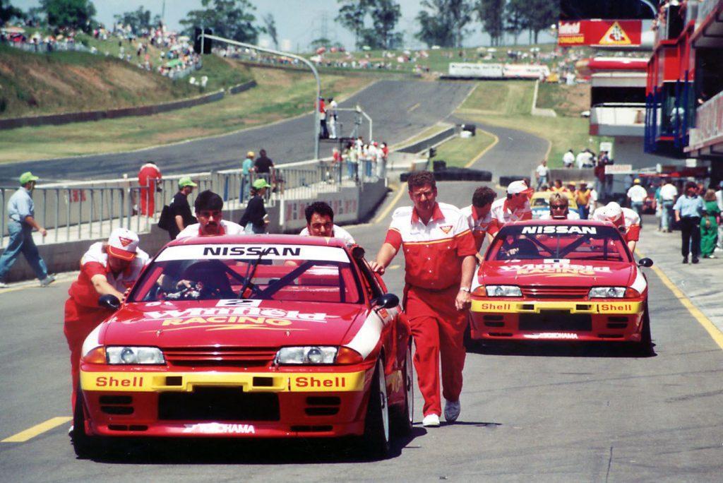 Nissan Skyline race