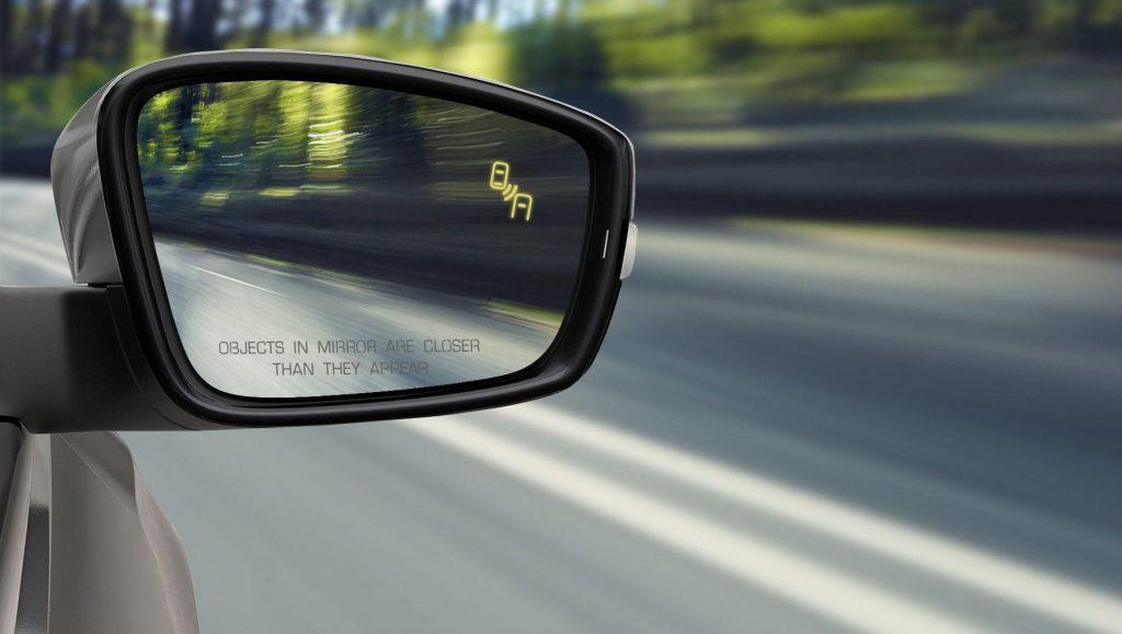 car terms blind spot monitoring