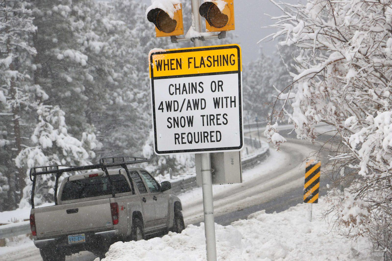 truck driving tips in bad weather