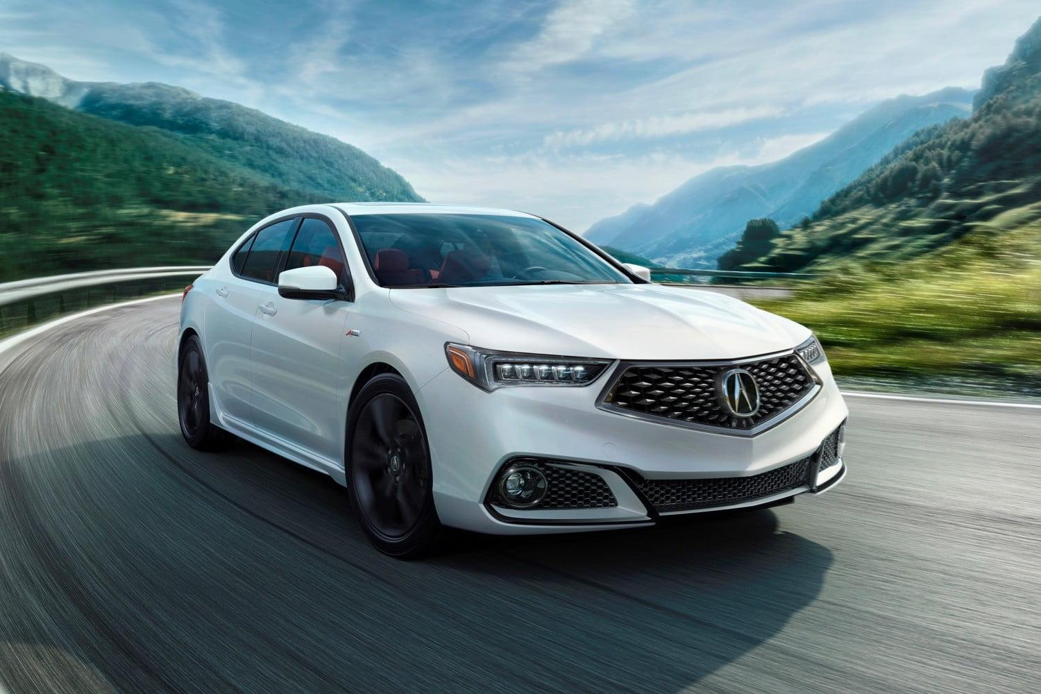important car terms FWD Acura