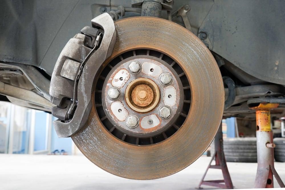 brake rotor brake caliper