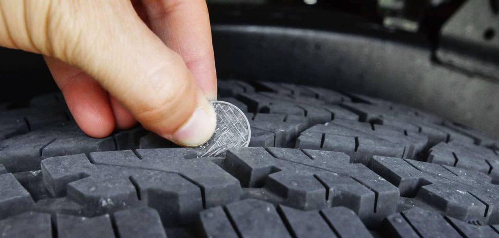 car tires penny test