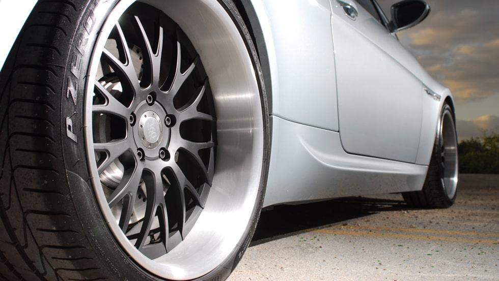 coated alloy wheels