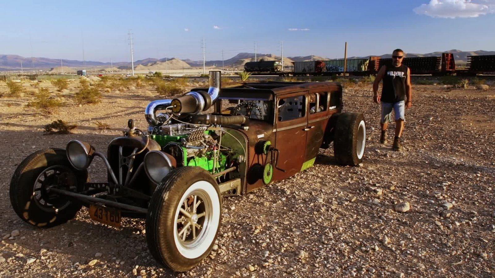 Vegas Rat Rods car show