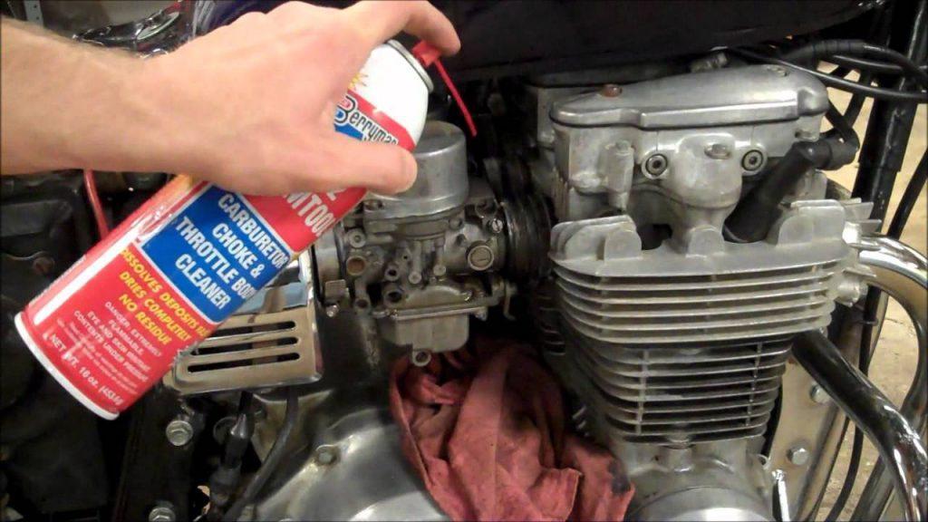 vacuum leak carb cleaner test
