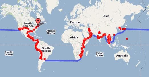 drive around the world route