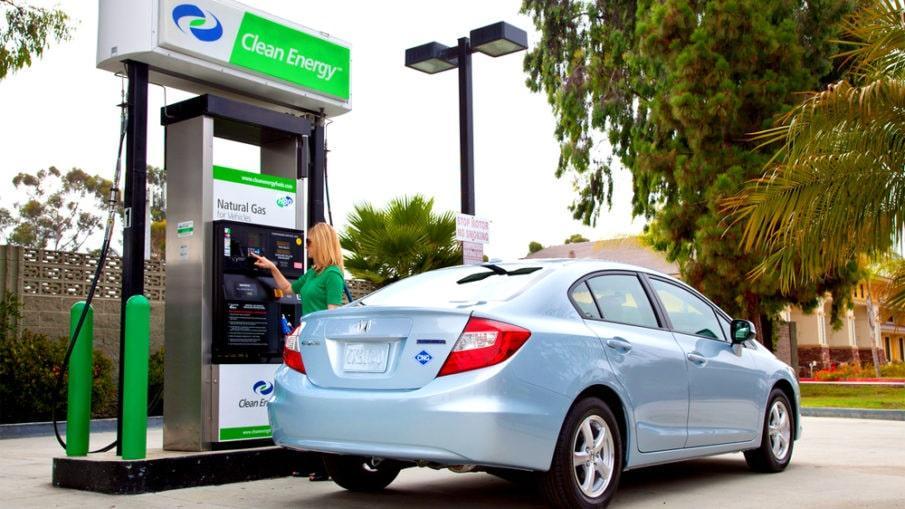 natural gas station