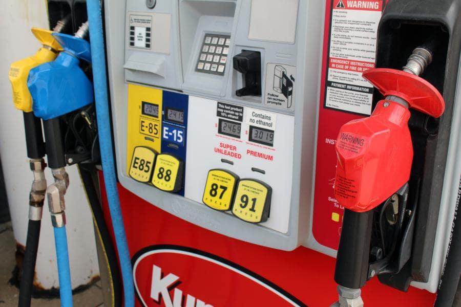 E85 reduce vehicle emissions