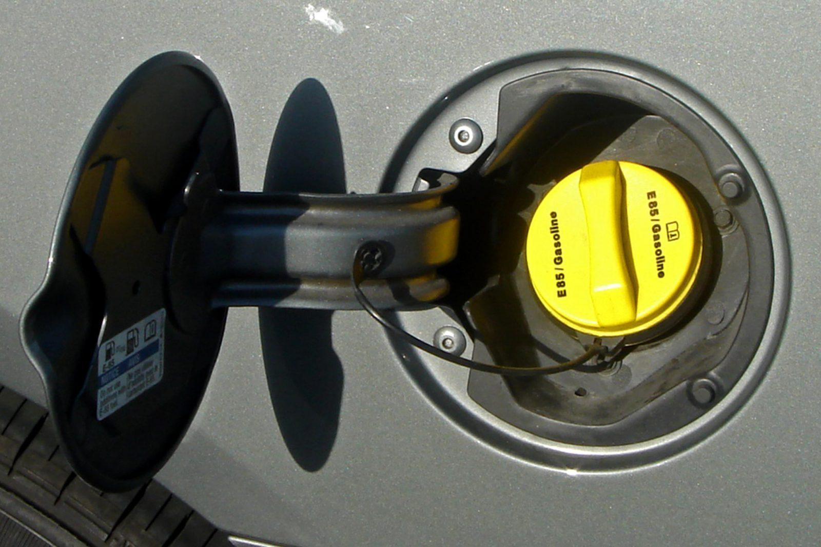 flex fuel vehicle cap