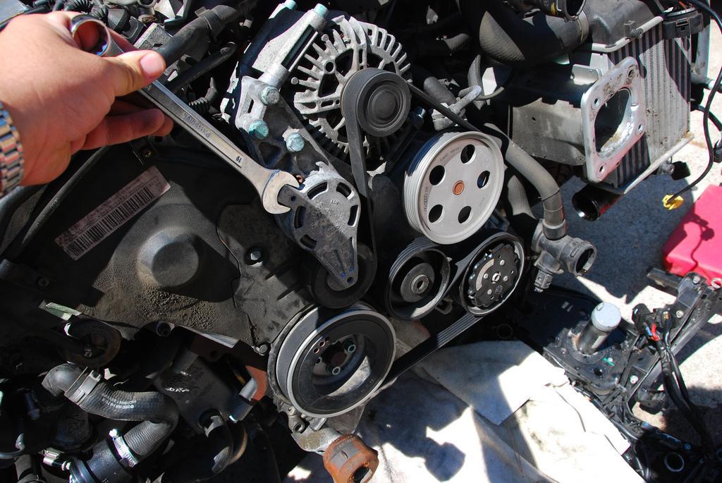check engine belts hoses