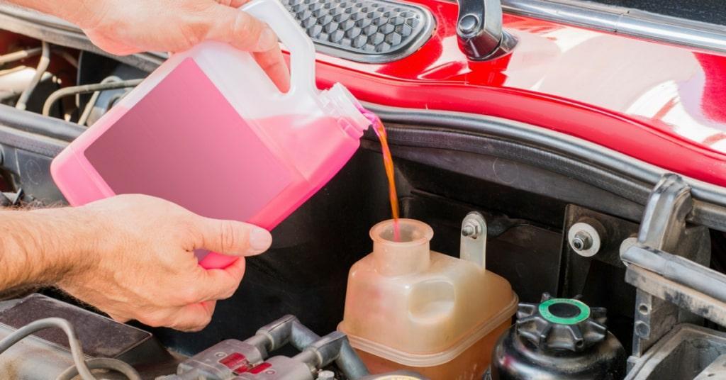 Fill transmission fluid