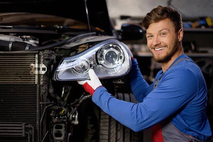 headlights fixing