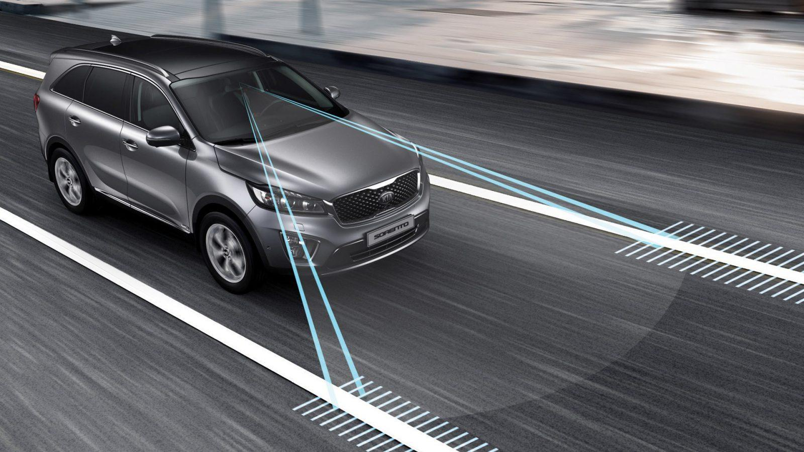 lane keeping assist pavement marking