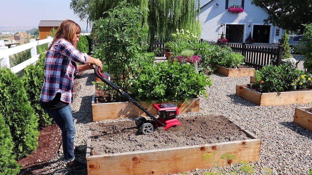 battery-powered gardening equipment