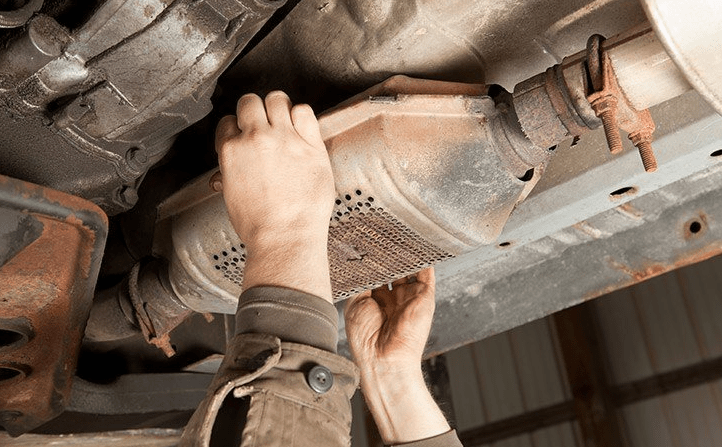 clogged catalytic converter fix