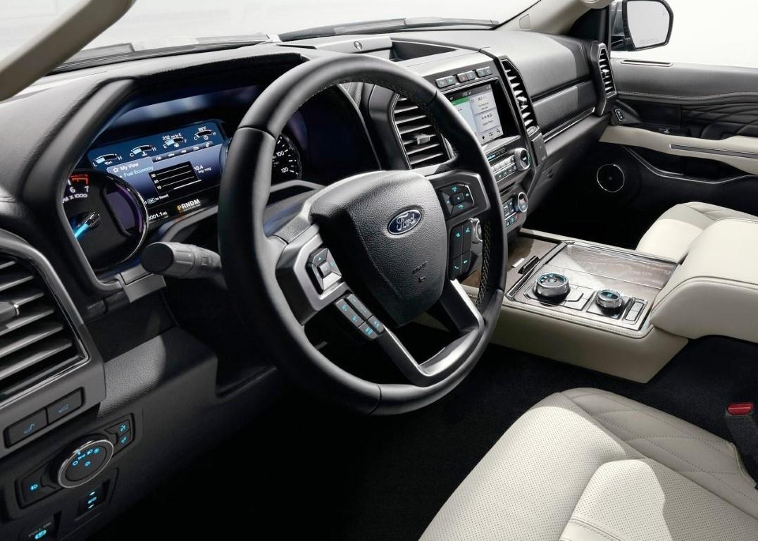 full-size SUVs interior
