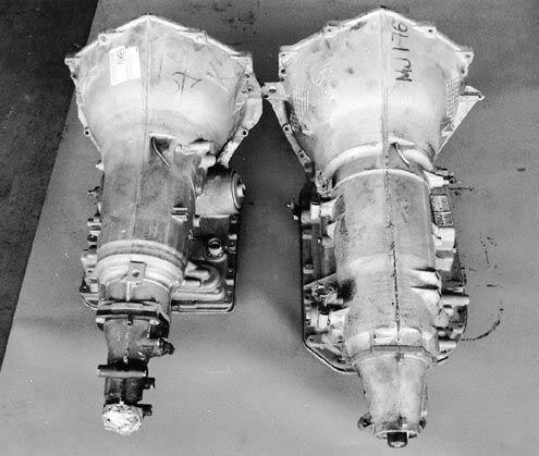 Difference between the 4l60e and 4l80e