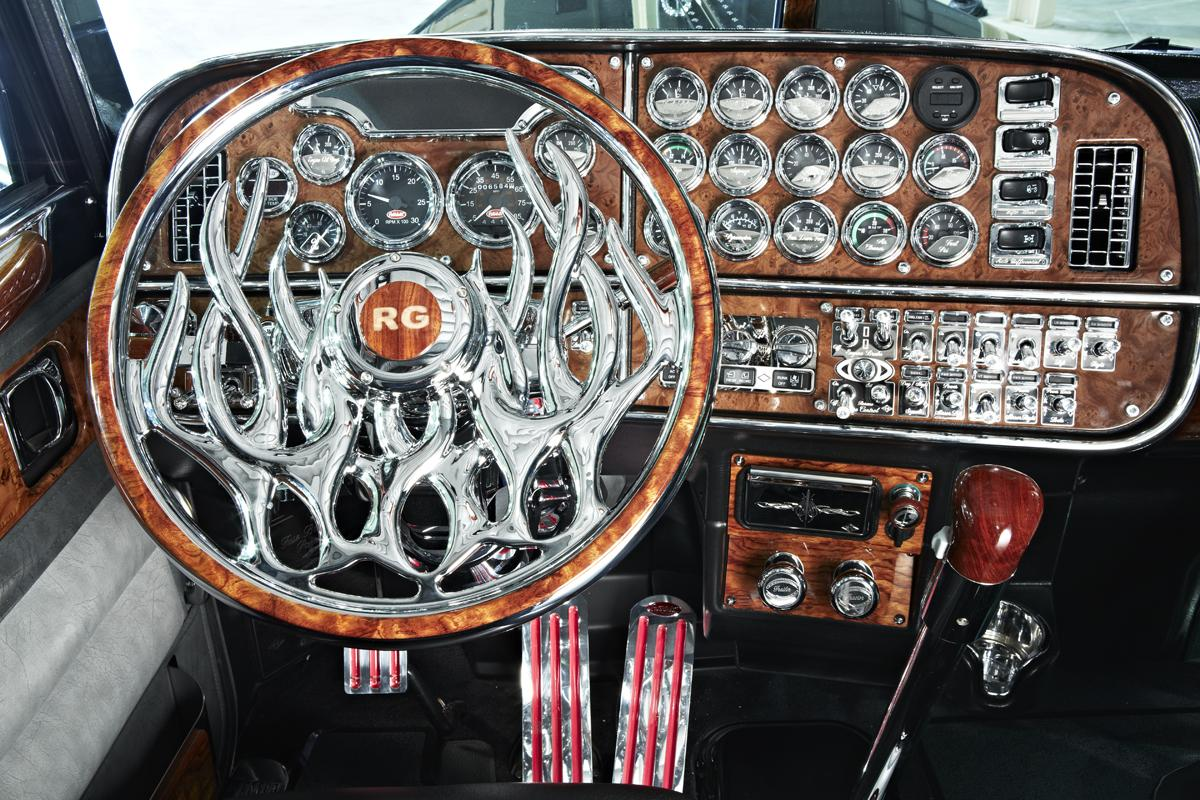 truck customized steering wheel