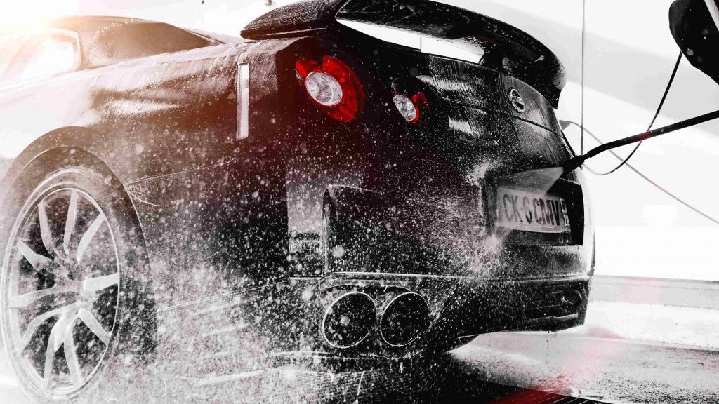 Car Pressure Washing