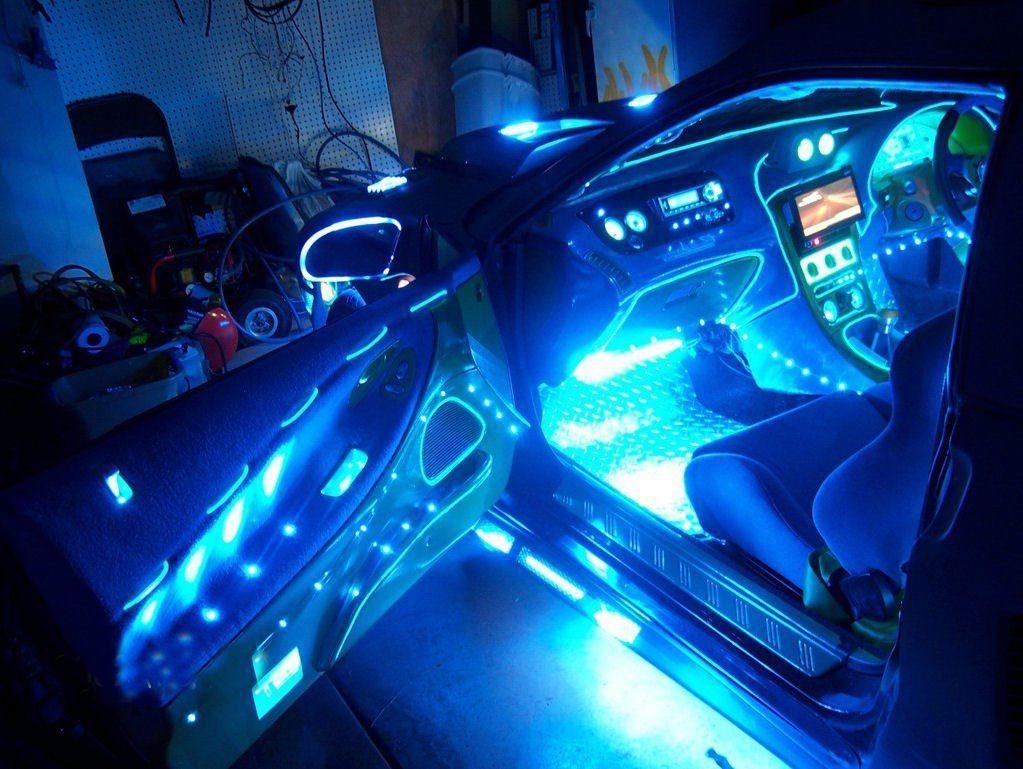 Installing led interior car lights