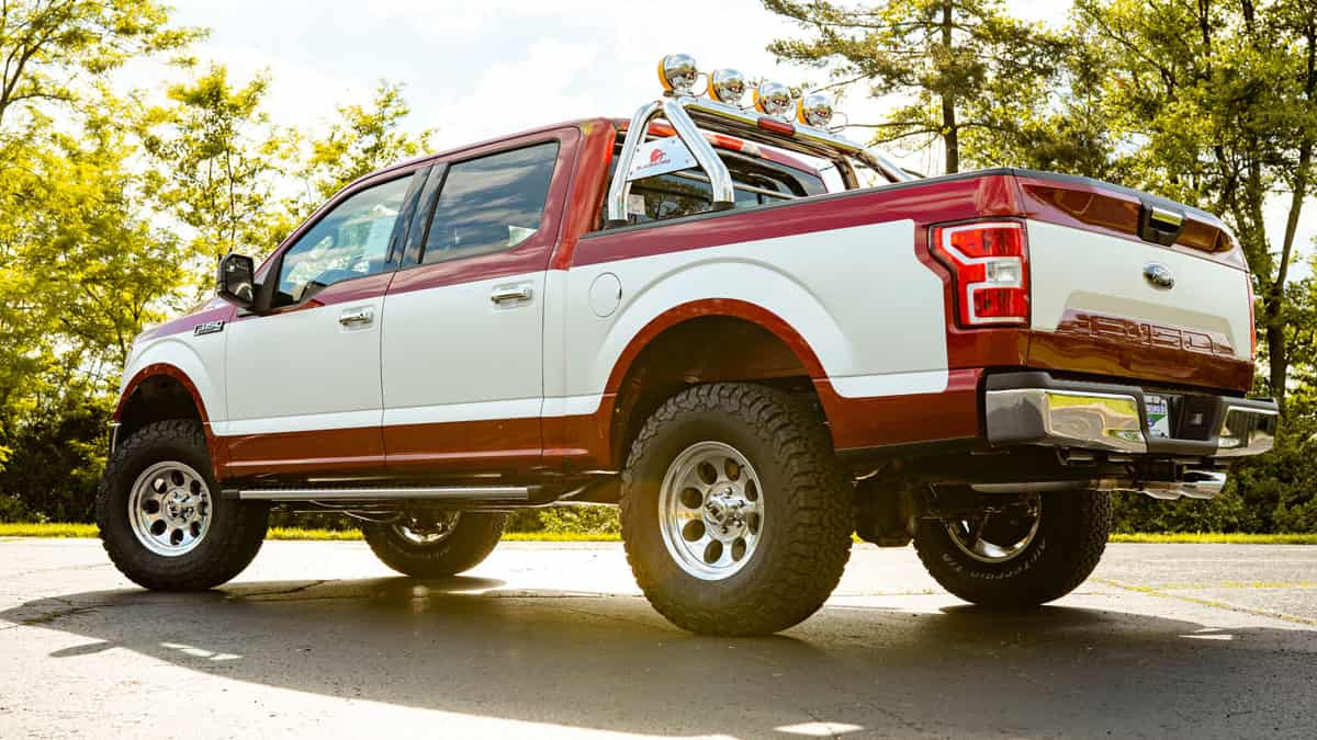 truck painting Ford F150