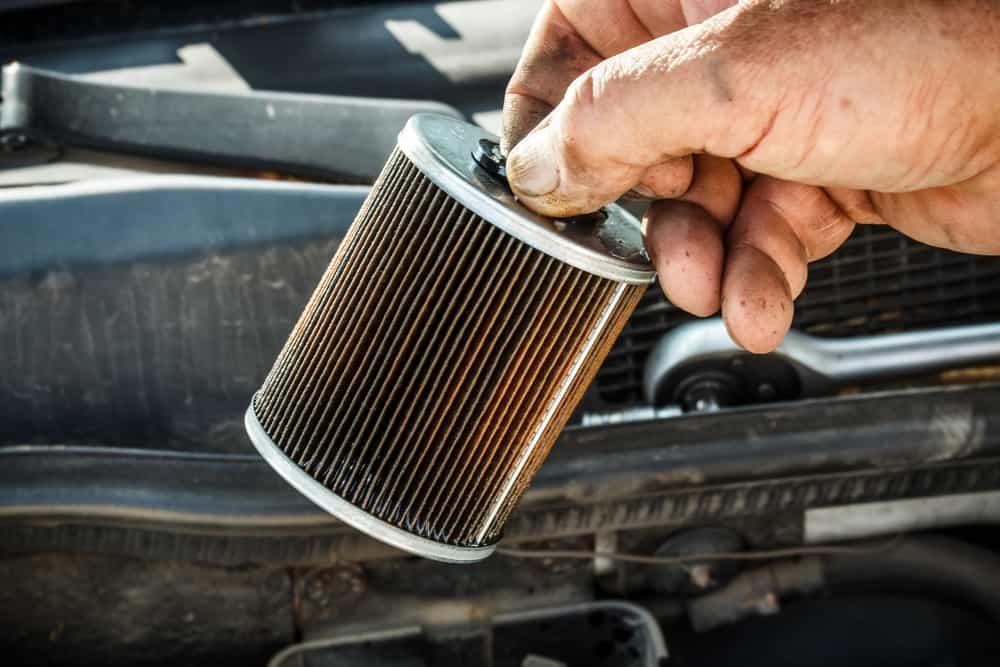car clogged fuel filter