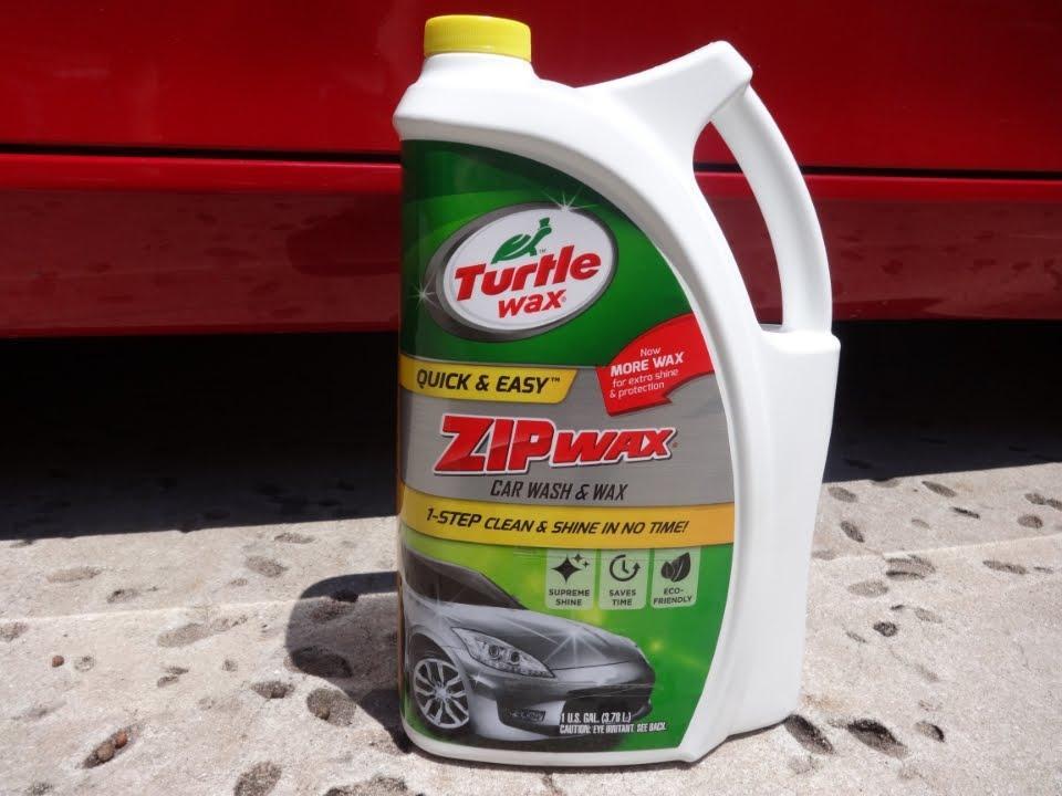 Turtle Wax T-79 Zip Wax Liquid Car Wash and Wax