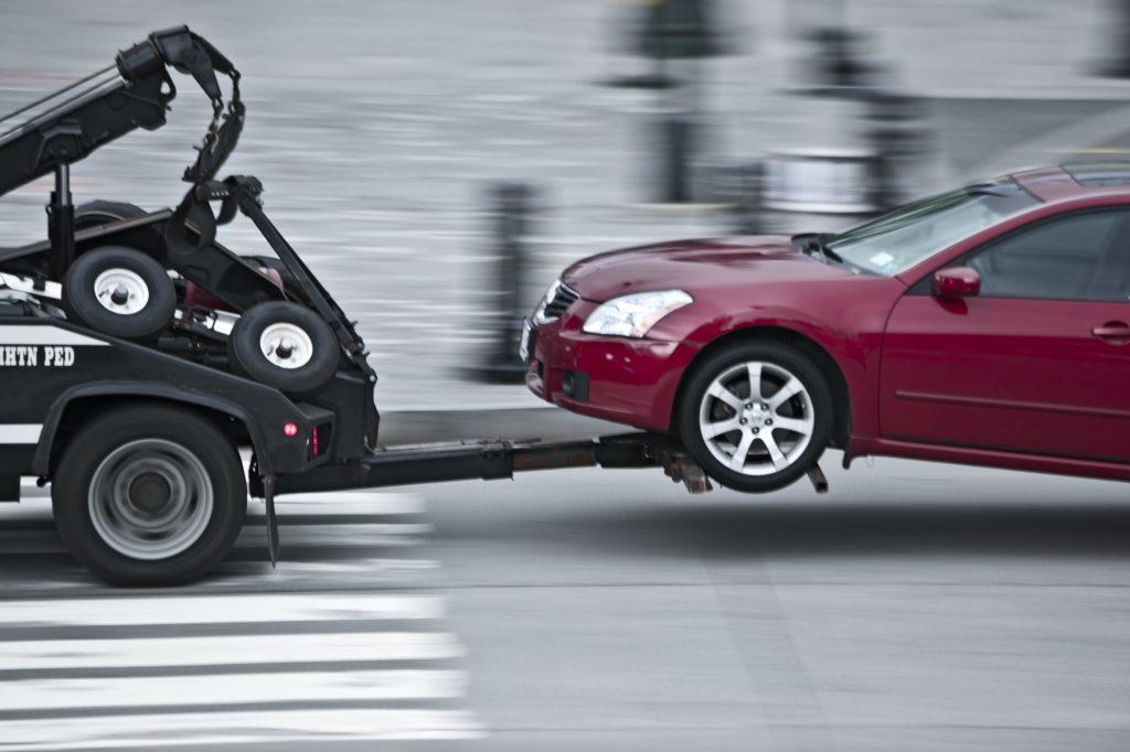 How to get a car towed