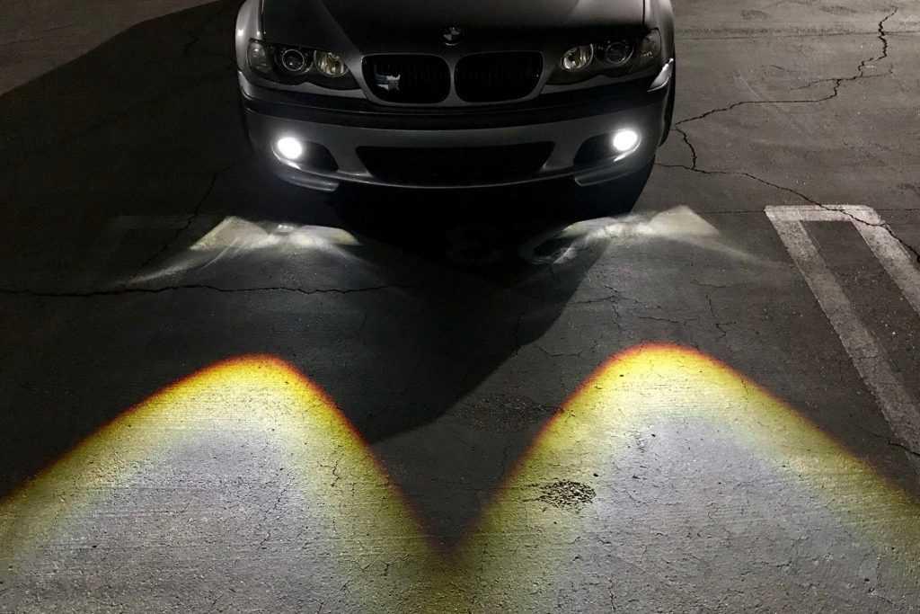 Fog lights installation