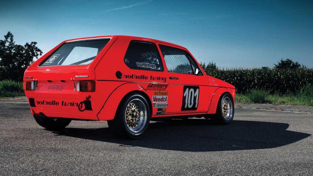 VW Golf race car