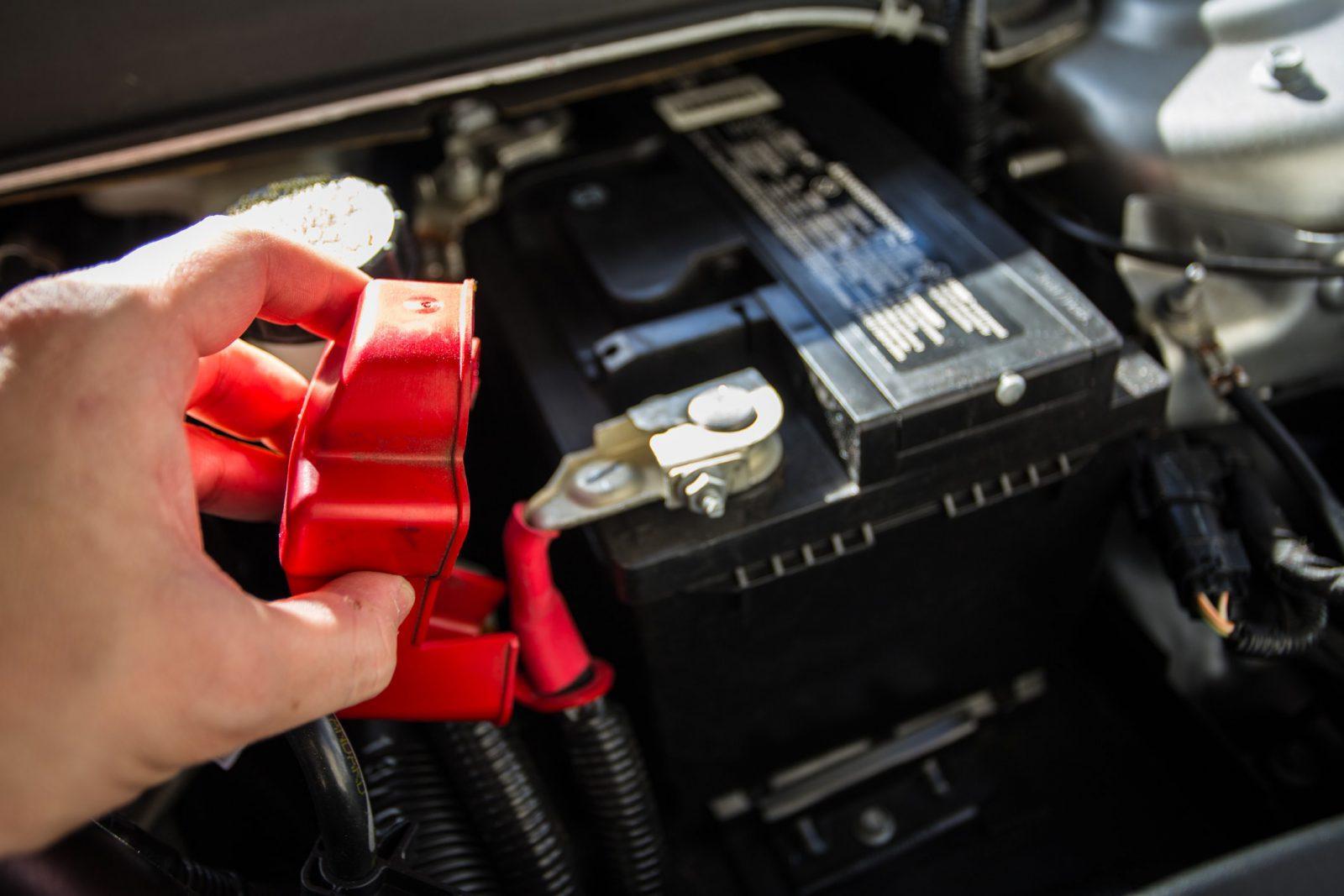 Lead acid car battery
