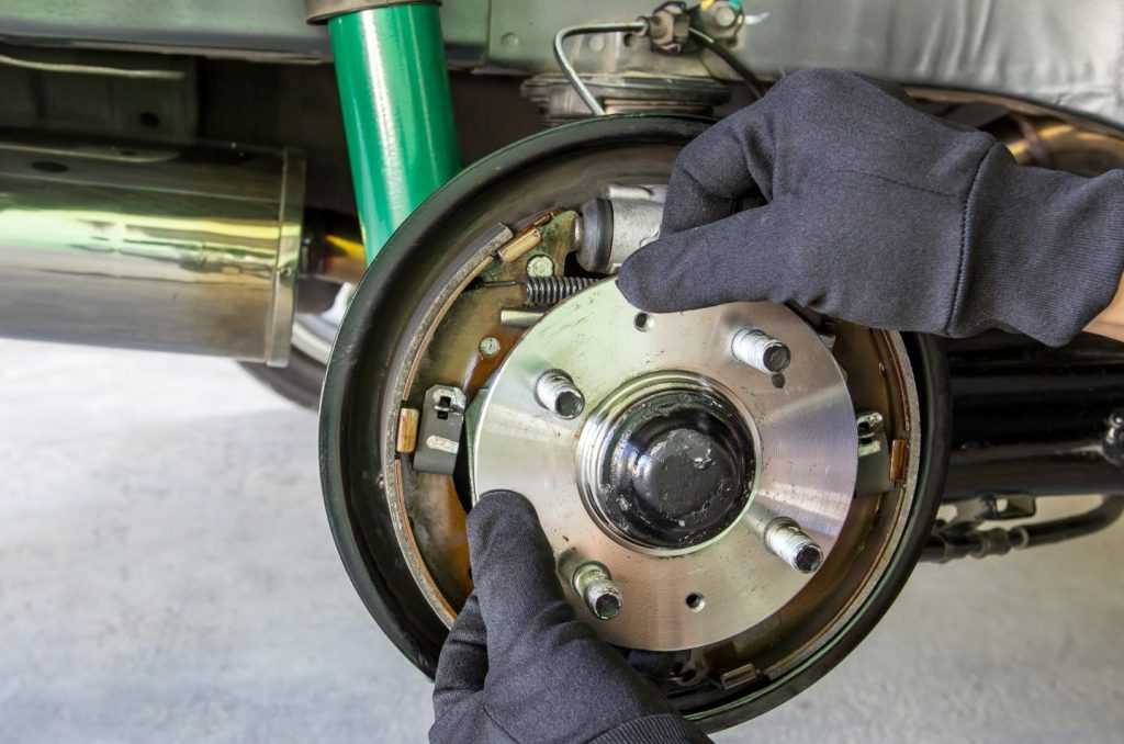 changing wheel bearing