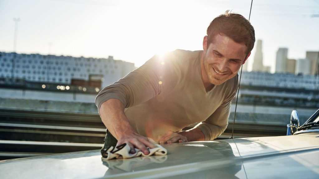 waxing your car