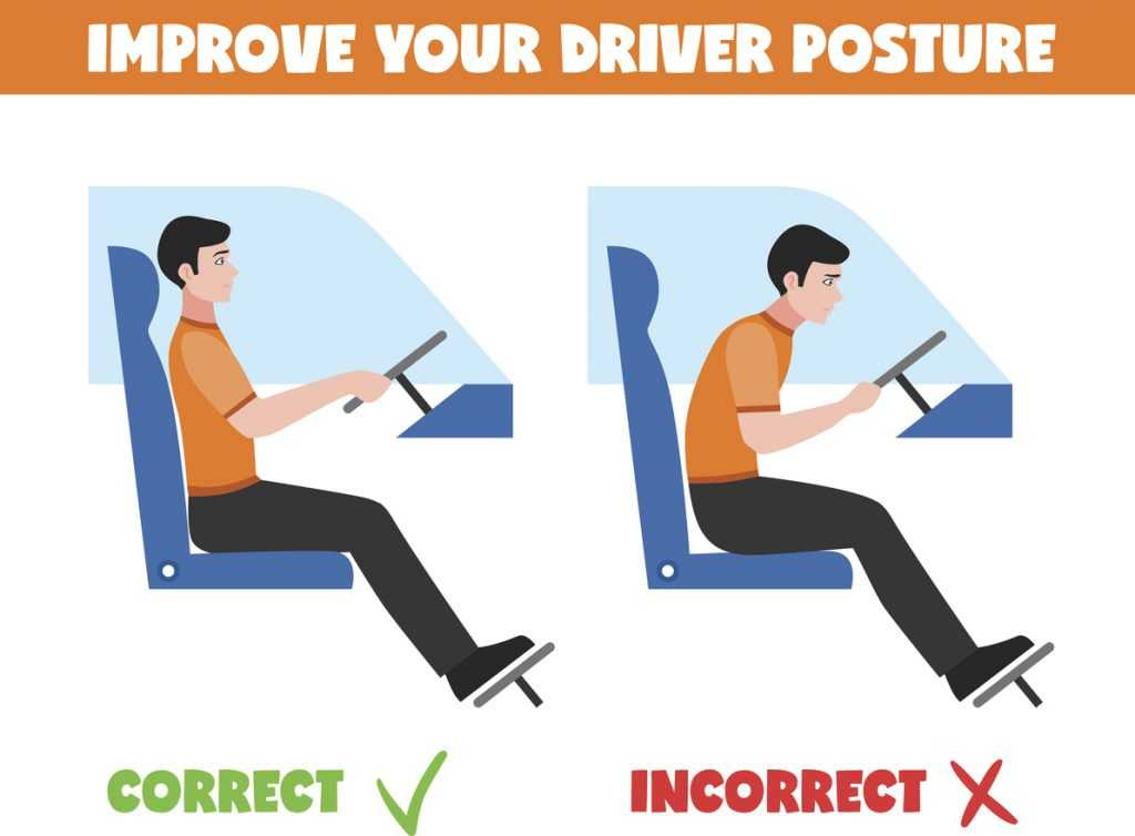 how do you get rid of back pain when driving