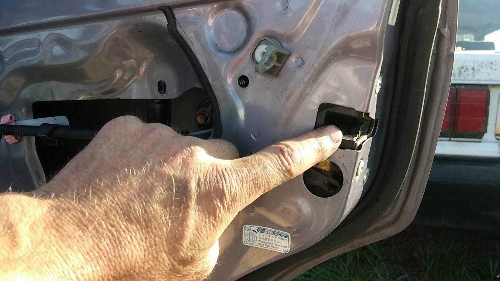 auto door lock not working