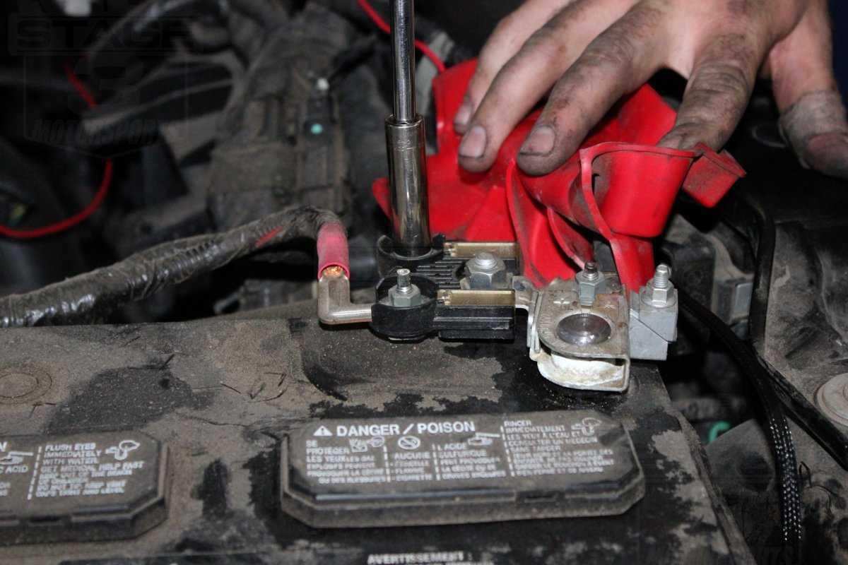 replacing car battery terminals